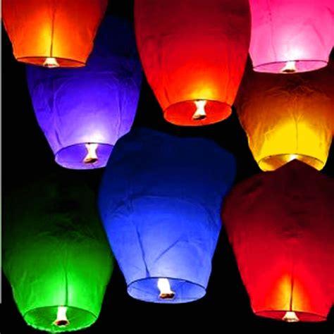 Make Flying Paper Lanterns - flying floating paper lanterns wishing