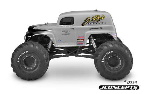 jam rc truck bodies jconcepts 1951 ford panel truck truck rc