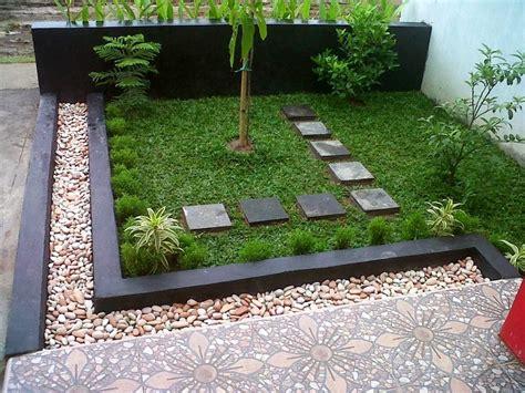 gambar taman depan rumah sederhana dan desain taman kecil depan rumah desain rumah minimalis