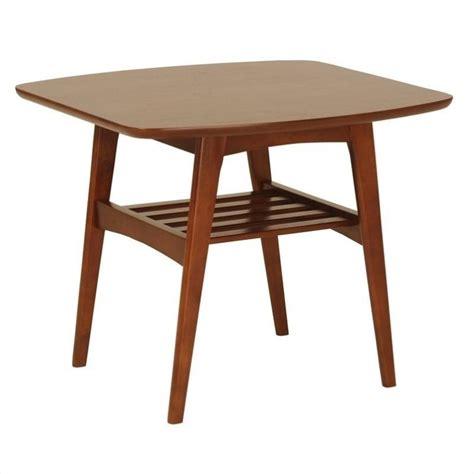 eurostyle carmela side table in walnut 33208wal
