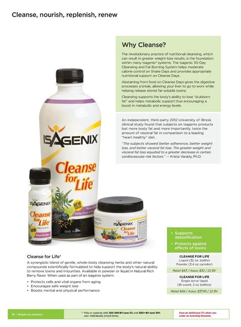 Detox Cleanse For Bv by Weight Loss Simplebooklet