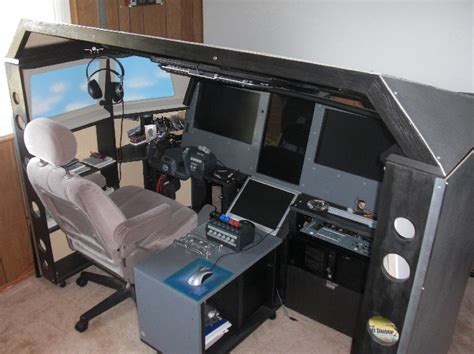 Cockpit Computer Desk Cockpit Computer Desk 8769