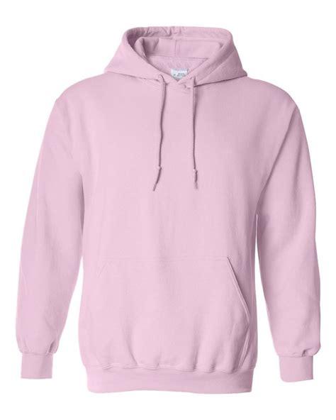 Hoodie Unisex Pink Berkualitas 1 hooded plain pink sweatshirt pullover hoodie