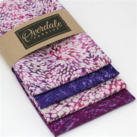 Batik Magenta by 4 Quarters Magenta Batiks Overdale Fabrics