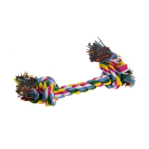 Olego Bone Chew Bone Knot Bone 25 Cm cotton tug rope bone 2 knots 25cm petz plus your solution for high quality affordable