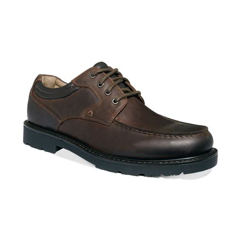 dockers shoes dockers longmire moctoe shoes in brown for lyst
