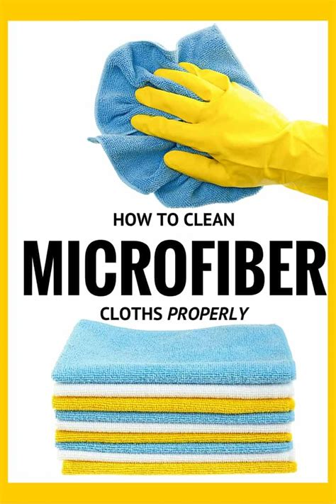 What To Use To Clean A Microfiber by How To Clean Microfiber Cloths How To S 174