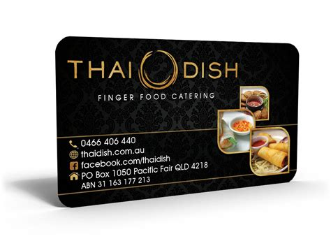 Catering Business Cards catering business cards design ideas theveliger