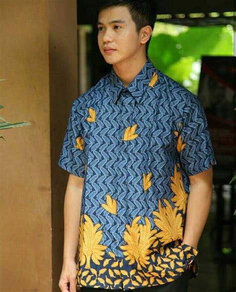 Kemeja Batik Merak Sogan 82 gambar kemeja batik pria terbaik di