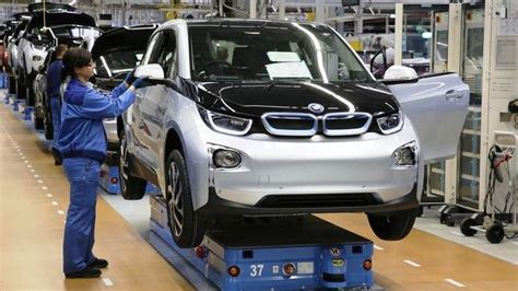 bmw factory bmw i3 how it s made factory in leipzig
