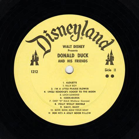 ebay boats for sale loch lomond disneylandrecords 1212 walt disney s donald duck and