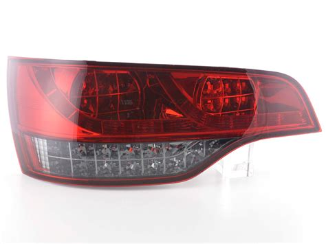 Audi R Ckleuchten by Tuning Shop Led R 252 Ckleuchten Audi Q7 Typ 4l Bj 06 Rot