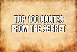 top 100 quotes from quot the secret quot in5d esoteric