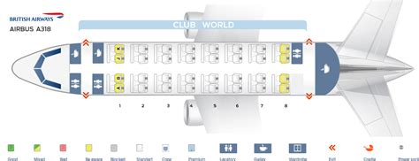 airbus a320 best seats seat map airbus a318 100 airways best seats in plane