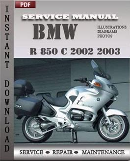 how to download repair manuals 2002 bmw m lane departure warning bmw r 850 c 2002 2003 workshop repair manual pdf servicerepairmanualdownload com