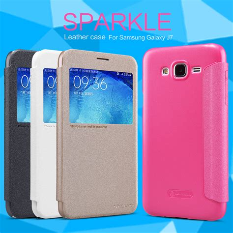 Flip Cover Samsung Galaxy J5 2015 J500 Smart Mirror Transparan samsung galaxy j7 funda smart sparkle nillkin prophone