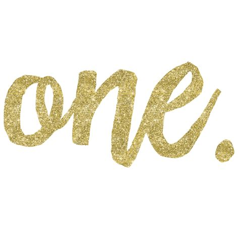Cape Brukat Glitter Gold 1 faux gold glitter one dress birthday custom printed clothing word on baby