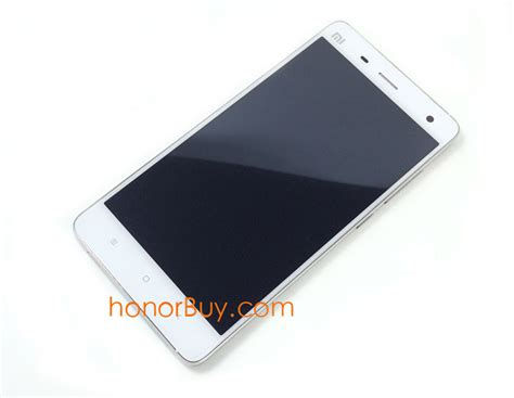 Lcd Mi4 touch screen display digiterzer lcd for xiaomi for mi4 white with frame