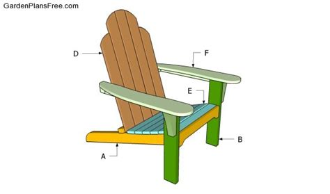 gumpaste adirondack chair template gumpaste adirondack chair template plans diy free