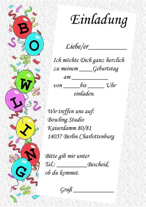 Kostenlose Vorlage Einladung Bowling Einladung Kindergeburtstag Vorlage Kostenlos Askceleste Info