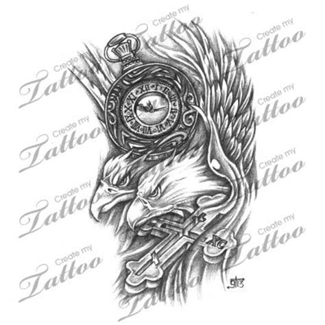 eagle cross tattoo 20 best images about eagle designs on