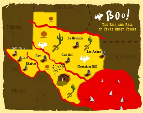 ghost towns texas map boo the rise and fall of texas ghost towns houston media