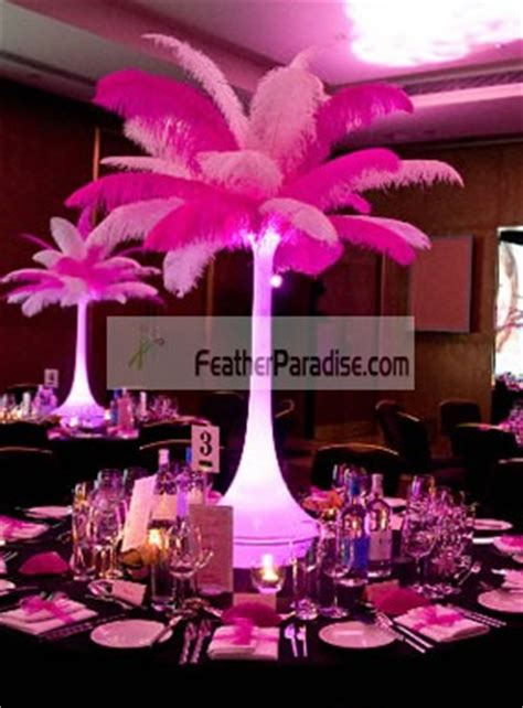feather plume palm tree wholesale mix sorted color ostrich