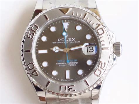 ar factory replica rolex 37mm yachtmaster 268622 grey review spot on replica watches
