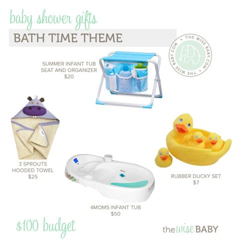 baby shower gifts bath time theme 100 budget