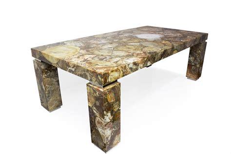petrified wood table zicana