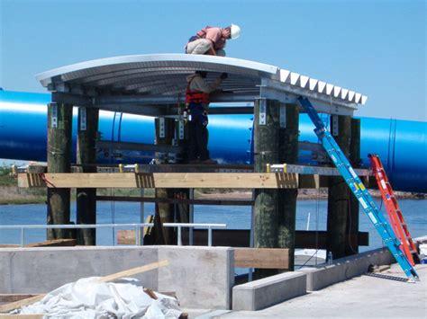 boat lift installation marine lifts aluminum boat lifts floating lifts