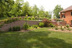 landscaping on a hill hill landscaping