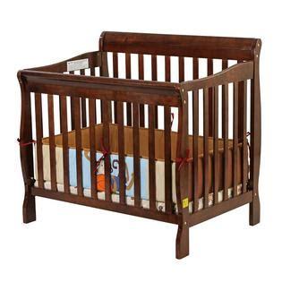 3 In 1 Mini Crib On Me On Me Aden Convertible 3 In 1 Mini Crib In Espresso Baby Baby Furniture