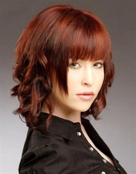 colores de pelo cortes de cabello estilos de cortes de pelo mediano con color de cabello y
