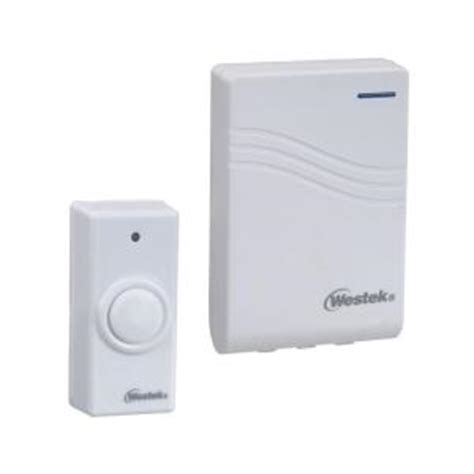 westek wireless doorbell kit rfk200 the home depot