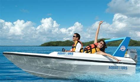 driving your boat at night jungle tour in cancun speedboat adventure