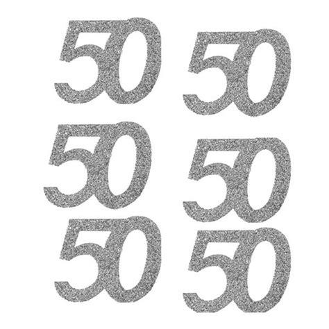 imagenes de cumpleaños numero 50 tienda de 50 cumplea 241 os compra confeti online al mejor precio
