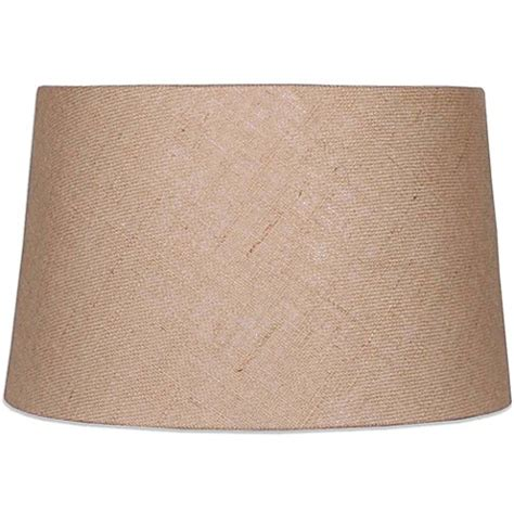burlap drum l shade mix match medium 14 inch hardback burlap drum l shade