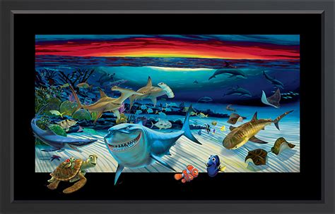 artist nemo biography wyland honors pixar s finding nemo with painting the