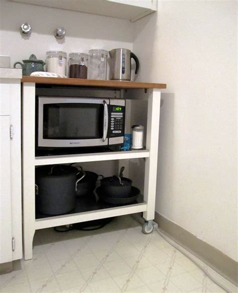 kitchen island microwave cart 25 best ideas about microwave cart on small