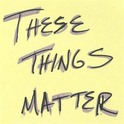These Things these things matter ttm podcast