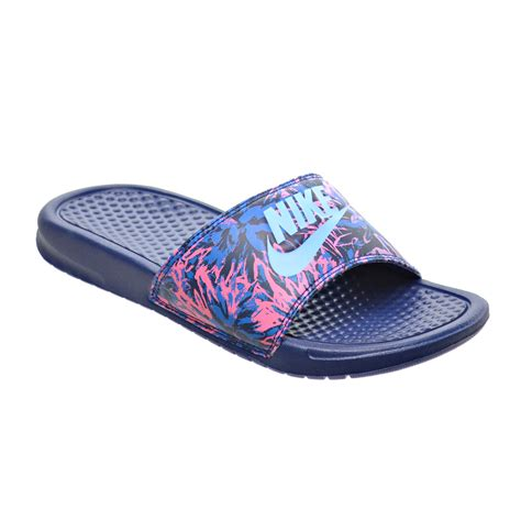 nike slide sandals womens nike sandals womens benassi jdi purple nike