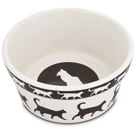 Cat Bowl harmony catwalk ceramic cat bowl petco