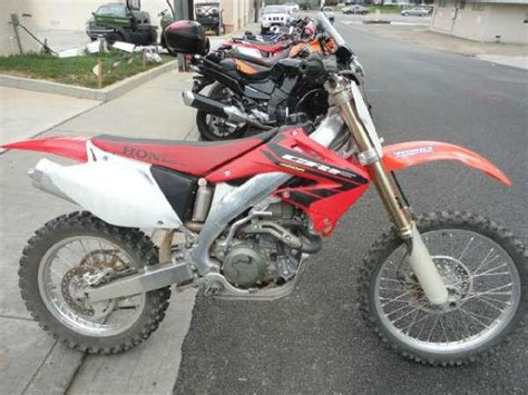2004 honda crf450r 2004 crf450r motorcycles for sale