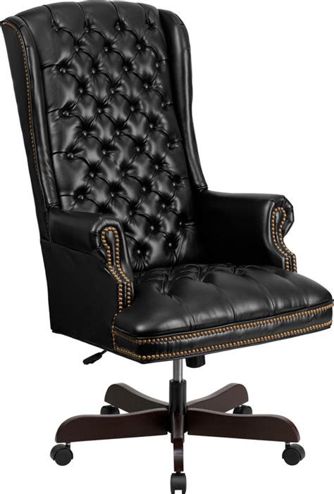 flash furniture ci 360 bk gg high back traditional tufted