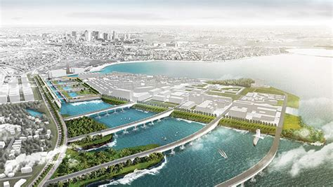 boston living with water design competition emersion design architects tackle challenges of rising sea levels bay