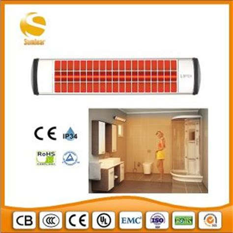 radiant wall heaters bathroom china 1 8kw infrared infra red electric wall mounted