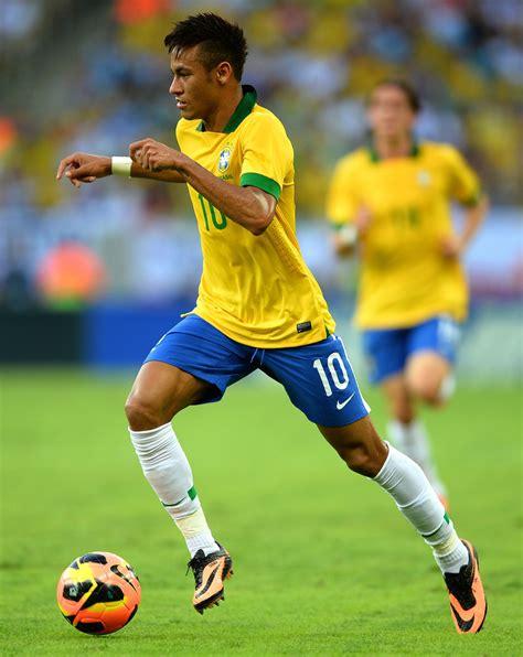 neymar in brazil v international friendly zimbio