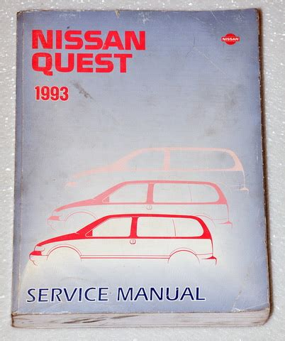 how to download repair manuals 1993 nissan quest seat position control 1993 nissan quest xe gxe mini van factory dealer shop service repair manual v40 factory repair