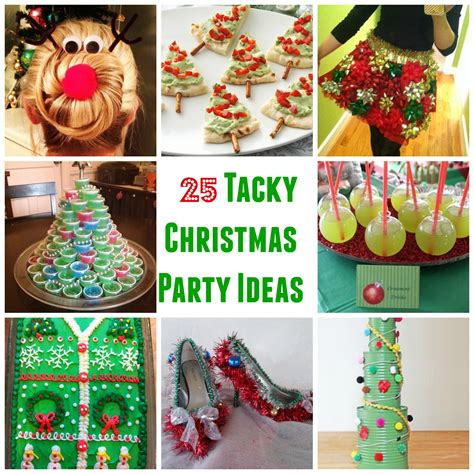 25 genius tacky christmas party ideas sarah scoop